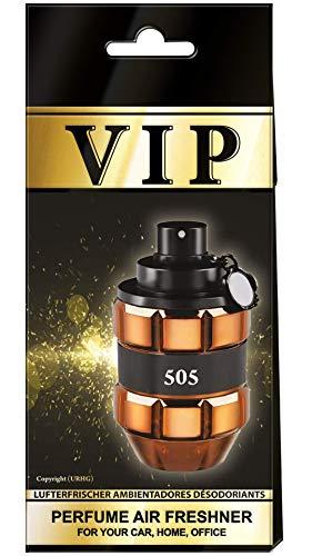 3x Caribi VIP Auto Lufterfrischer Parfüm HEIM BÜRO Duft ähnlich wie teures Parfüm - №505