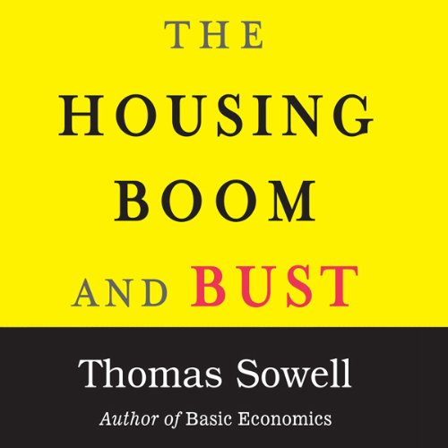 The Housing Boom and Bust audiobook cover art
