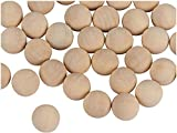 Lifestyle Wooden Balls with Sandalwood & Cedar Fragrance for Home and Office (20pcs) 3 cm (20)