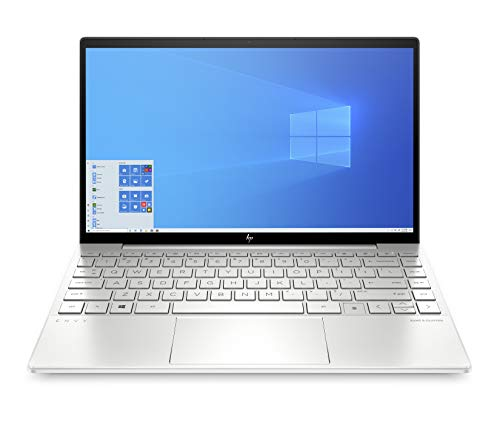 "HP – PC Envy 13-ba0006nl Notebook, Intel Core i5-1035G1, RAM 8 GB, SSD 512 GB, Grafica Intel UHD, Windows 10 Home, Schermo 13.3"" FHD, Lettore impronte digitali, Lettore Micro SD, USB-C, HDMI, Argento"