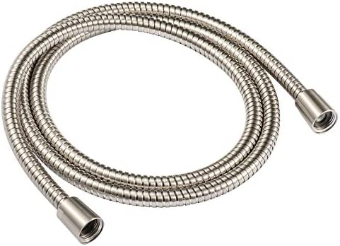 JAKARDA 60 inch Extra Long Brushed Nickel Shower Hose Replacement 304 Stainless Steel Made Long product image