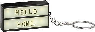 Moses Mini caja de luz en el llavero   llavero para personalizar   con 75 letras, números y símbolos.