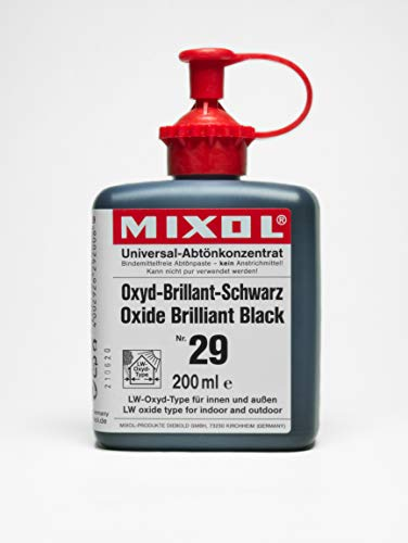 200ml MIXOL Universal-Abtönkonzentrat # 29 Oxyd-Brill.Schwarz