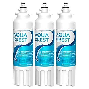AQUA CREST ADQ73613401 Refrigerator Water Filter Replacement for LG LT800P ADQ73613402 ADQ73613408 ADQ75795104 Kenmore 9490 46-9490 LSXS26326S LMXC23746S LMXC23746D  Pack of 3