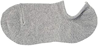 MUJI - Men Organic Cotton Right Angle Low Cut Sneaker In Socks (5 pairs)