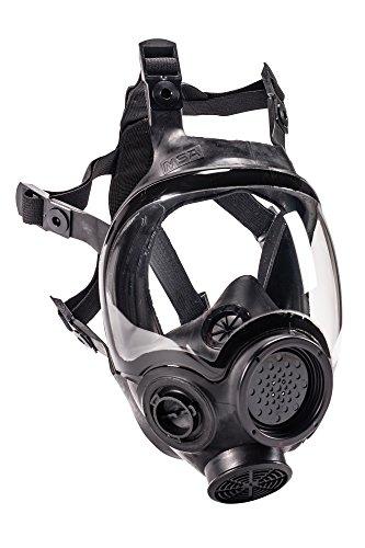 MSA 805420 Hycar Rubber Advantage 1000 Full-Facepiece Respirator, Large