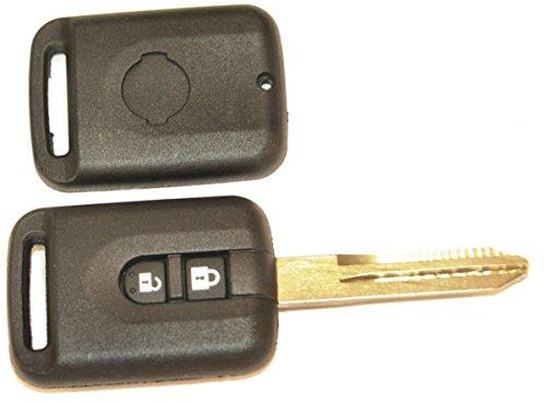 KLEMAX Coque de clé Adaptable pour Nissan Lame B crantée référence: NIS22