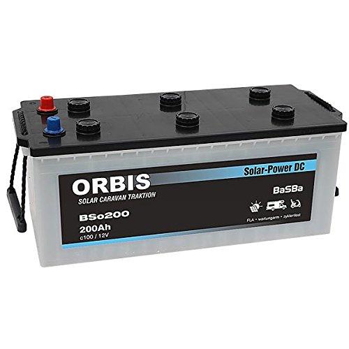 Versorgungsbatterie Solarbatterie BSo-200 12 Volt 200 Ah c100