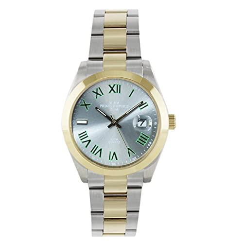 M&M - Reloj primer Emporio bicolor de acero 1102WO