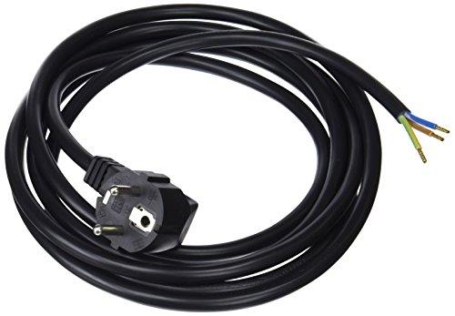 Bachmann 2174421 305.185 Schutzkontakt-Zuleitung, 3 m, schwarz