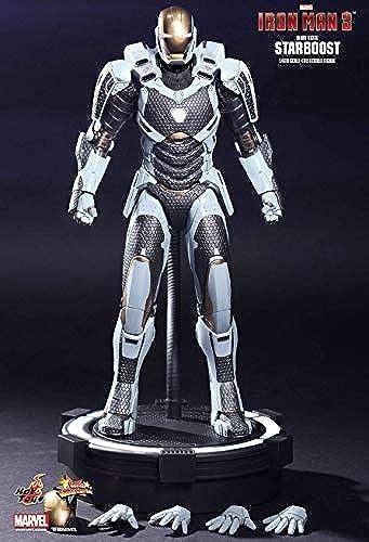 Hot Toys MMS214 - Marvel Comics - Iron Man 3 - Iron Man Mark 39 Starboost - Officiel
