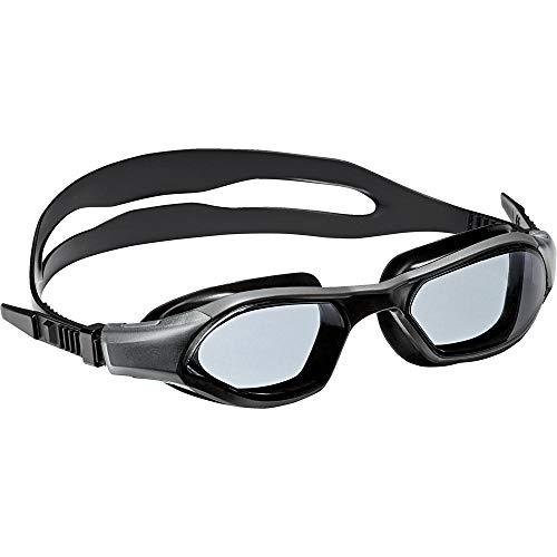 adidas Kinder Schwimmbrille Persistar 180 Junior, Smoke Lenses/Utility Black, One size, BR5845