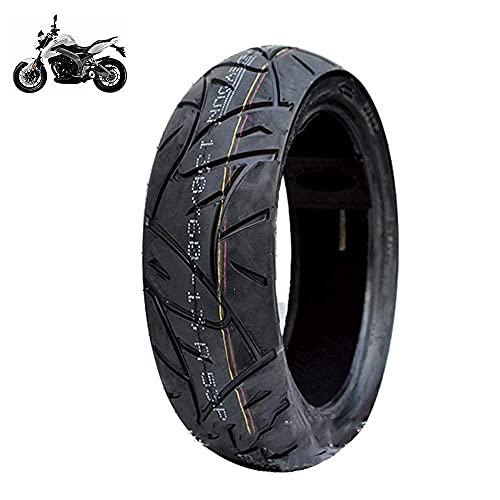 Neumático para Scooter eléctrico, 130/60-13 Neumático de vacío Antideslizante, Resistencia a la abrasión, Resistencia a los pinchazos, Bajo Nivel de Ruido, Adecuado para Motocicletas eléct