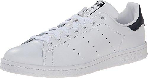 Zapatillas Unisex Stan Smith para Adultos, Originales, con Suela Baja, de Adidas, Color Blanco, Talla 54 2 3 EU(M)