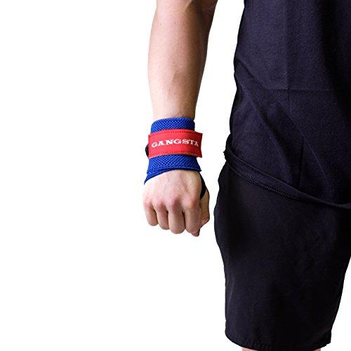 Sling Shot Mark Bell's Gangsta Flex Wrist Wraps for Weightlifting and Bodybuilding