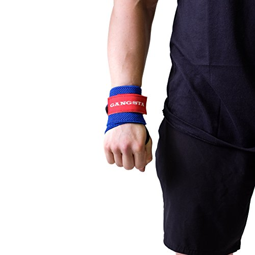 Sling Shot Mark Bell's Gangsta Flex Wrist Wraps for Weightlifting and Bodybuilding