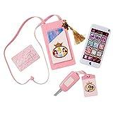 Colección Disney Princess Style: Set teléfono móvil con sonidos y luces con bolso portamovil y otros accesorios