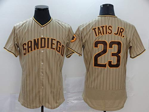 Camiseta De Béisbol, Padres #23 Fernando Tatis Jr Uniforme De Béisbol para Hombres, Camiseta De Béisbol De élite Camiseta De Manga Corta para Hombres Uniforme Jersey