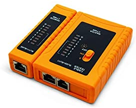 iMBAPrice - RJ45 Network Cable Tester for Lan Phone RJ45/RJ11/RJ12/CAT5/CAT6/CAT7 UTP Wire Test Tool