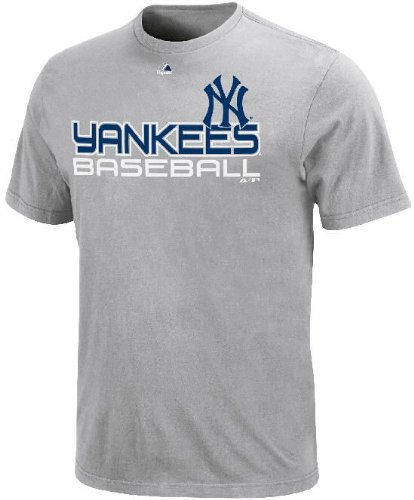 New York Yankees hombres gris de control jarra T camiseta por Majestic, XXL=52, gris: Amazon.es: Deportes y aire libre