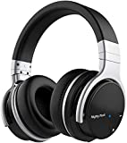 Meidong E7C Active Noise Cancelling Headphones Bluetooth Headphones Over Ear Wireless Headphones with Microphone Hi-Fi Deep Bass Stereo Headphones 30H Playtime for Travel/Work/TV