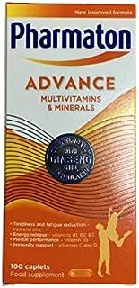 Pharmaton Advance Multivitamin and Mineral 200 Caplets (2 Packs X 100 Caplets)