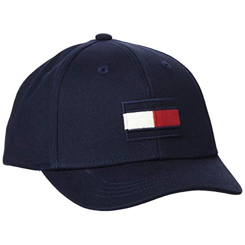 Tommy Hilfiger Big Flag cap Berretto da Baseball, Blu (Desert Sky Dw5), Medium Unisex-Adulto