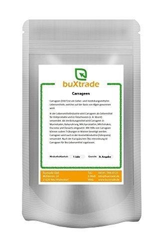 1 kg Carrageen E 407 gemahlen Irländisches Moos Carrageenan Hydrokolloide