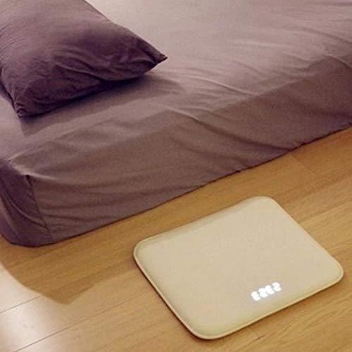 WWEDSF WeckerDruckempfindliche Wecker Teppich Elektronische Digitale Uhr Schlafzimmer Anti-rutsch...