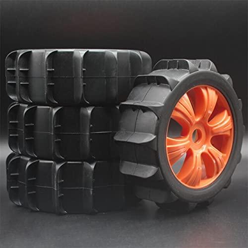 MZWNQ para RC para Neumáticos HSP con Juegos de Ruedas Tipo Arena para Buggy HoBao 1: 8 / Recorrido Corto ( Color : 82R-805-4 )