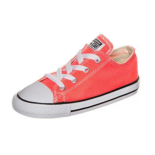Converse Jungen Unisex Kinder Chuck Taylor All Star Fresh Colors OX Sneaker, orange, 20 EU