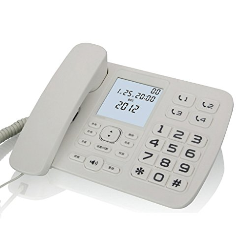 Téléphone Liuyu · Maison de Vie Rétroéclairage de l'écran de l'afficheur (Color : White)