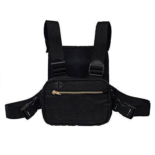 Bolsillo de Pecho Chest Bag, Bolsa de Pecho Manos Libres para Walkie...