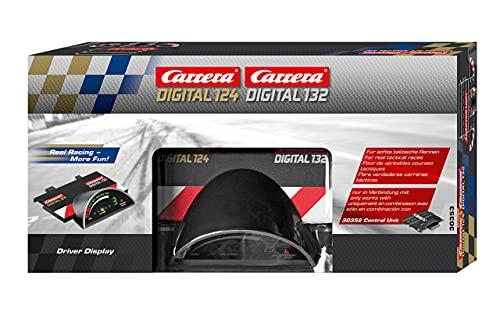 Carrera 20030353 Driver Display – Elektronisches Zubehör für die Carrera DIGITAL 124 oder DIGITAL 132 – Anzeige der Rennposition, Tankinhalt, Drehzahl & Pit Stops-Anzahl