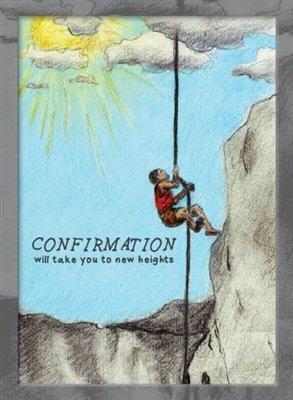 Cartão de confirmação Rock Climber