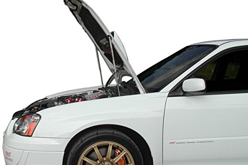 Redline Tuning 21-36001-03 Hood QuickLIFT ELITE System Compatible with Subaru Impreza WRX 2002-05 (Stainless Steel Struts)