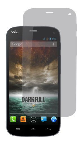 Swiss Charger SCP50139 Bildschirmschutzfolien für Wiko Darkfull, 2 Stück, Transparent