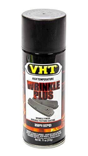 VHT 耐熱 耐火 スプレー タイプ リンクル 結晶塗装 ブラック 黒 塗料 内容量 325ml 耐熱温度 約180℃ ハーレーでは1970年代後半から使われていたちぢみ塗装 Wrinkle Plus Black SP201