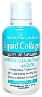 Scientific Beauty Technology Liquid Collagen for Healthy Hair, Skin & Nails 16 fl oz