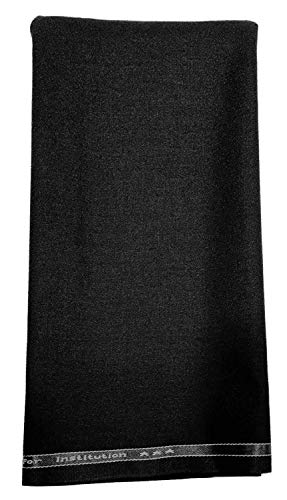 Raymond Men's Poly Cotton Trouser (Rymd_Marisco_Black__1.3 Meters)