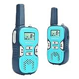 SOCOTRAN R8 Walkie Talkie Recargable sin/Libre Licencia PMR446 8 Canales Comunicación de Radio Bidireccional de 0,5 W con Código de Privacidad, VOX, Roger Beep, Linterna