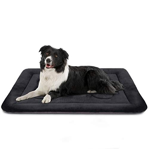 Medium Dog Bed Crate Mat 36 in Non-Slip Washable Soft Mattress Kennel Pads