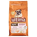 ultima Pienso para Perros Mini Sensitive con Salmón - 1.5 kg