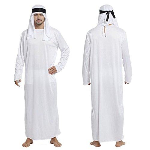 monoii アラブ コスプレ 石油王 コスチューム ハロウィン 仮装 アラブ 民族 衣装 ターバン c016