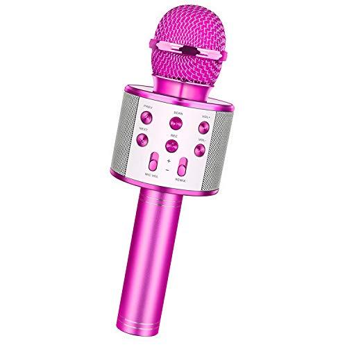 dmazing Microfono Bambini 3-10 Anni, Giocattoli Ragazza 10-15 Anni Regali Bambini 3-10...