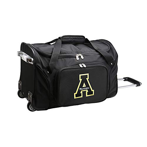 Read About NCAA Appalachian State Mountaineers Wheeled Duffle Bag, 22-inches