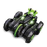 ALYHYB RC Deformation Stunt Cars, juguete de control remoto, 6 canales de alta velocidad Off-Road Drift Vehículos, soporte giratorio, batería recargable, regalos para niños y niños cumpleaños