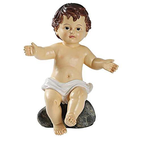 Akcesoria Do Domu Wykwintne Żywiczne Ozdoby Choinkowe Figurka Narodzenia Dzieciątka Jezus Ręcznie Malowana Żywica 29 Cm Figurka Statua