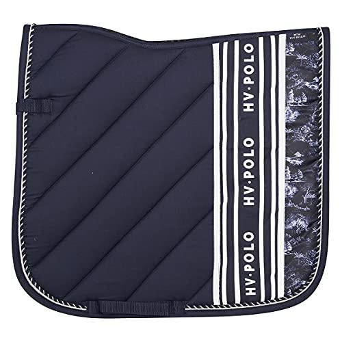 HV-Polo Tapis de Selle Juliette Bleu-Dressage Cheval