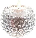 LONGRIDGE Kristall Golfball-Teelichthalter und Briefbeschwerer